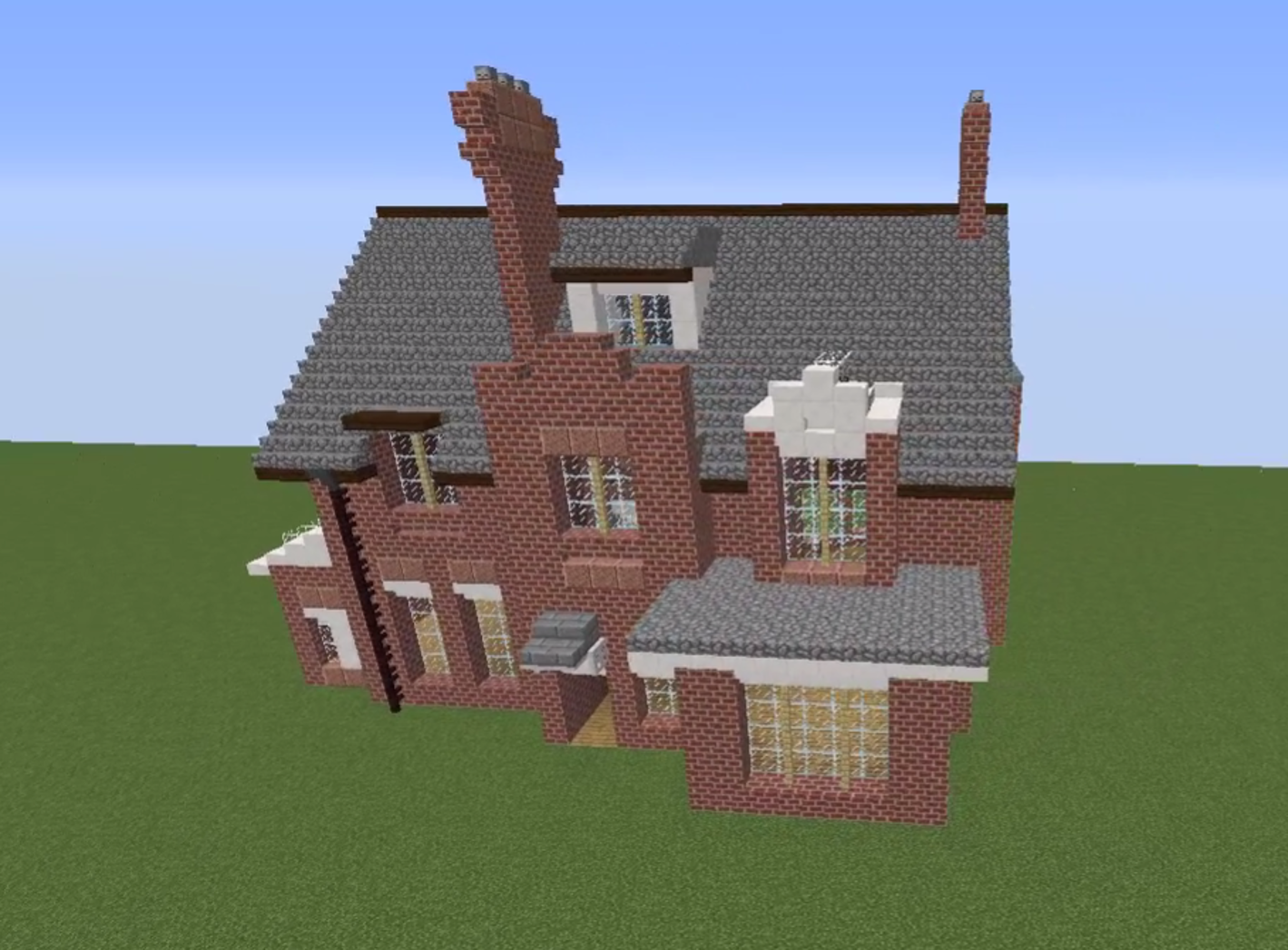 MinecraftNormanShawHouse